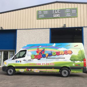 Vehicle Wrapping by FDF Signs Forbes Design Fabrication